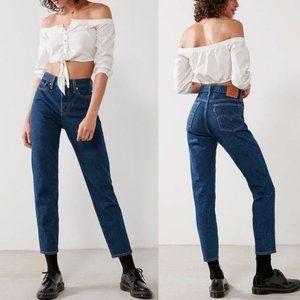 Levis Wedgie Fit, Dark Wash Jeans